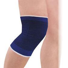 XL Blue Knee Patella Support Elasticated Brace Guard Injury Stabilizer Wrap Gym