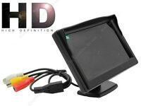 "5"" High Resolution HD 800*480 Car LCD Monitor Screen Display 2ch Video+Mount G0"