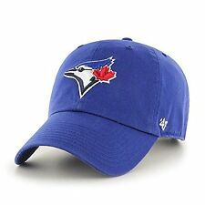 Toronto Blue Jays 47 Brand Clean Up Adjustable Field Classic Blue Hat Cap MLB