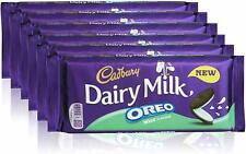 Cadbury Dairy Milk Oreo Mint Chocolate Bar 120g (Pack of 6)