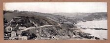 1908 RPPC Panoramic Card Photo Postcard 32097 Looe The Coast England Authentic