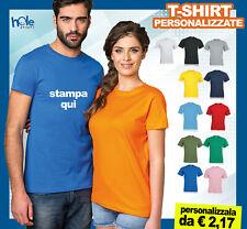 T-shirt Maglietta Eventi Personalizzate Gadget da Uomo Donna per Aziende 100