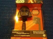 New NIB Darth Vader Star Wars Handheld Shower Head Kit 160393