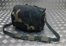 Genuine Vintage Military Issued Canvas Shoulder Bag / Mini Backpack CAMO Type 1