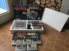 Super Nintendo Starwing Console Bundle - VERY GOOD CONDITION - SNES PAL