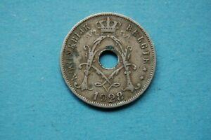 BELGIUM - 1928 TWENTY FIVE CENTIMES (25c) DUTCH LEGEND COIN