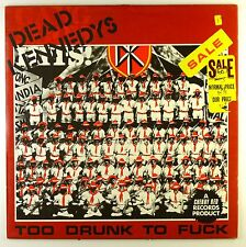 Maxi CD - Dead Kennedys - Too Drunk To Fuck - #L7527 - washed & cleaned