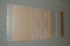 """Plexi Glass Two Acrylic Safety Sneeze Shields/Gards """"New Other GreatOpportunity!"""