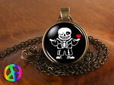 Undertale Sans 2 Game Gaming Handmade Fashion Necklace Pendant Jewelry Art Gift