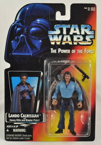 Star Wars POTF2 .00 Red Card Lando Calrissian Figure    PROTECH