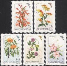 UNGHERIA 1991 fiori d'America/Lobelia/EDERA/IMPIANTO DI GAMBERETTI/NATURA SET 5v (n45636)