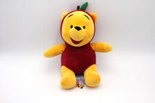 "Disney Winnie The Pooh Apple, Strawberry Cute Rag Plush Doll Toy 9.8"" 25cm"