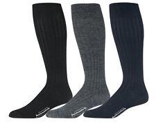 Men's Over the Calf Dress Socks Merino Wool Knee High Calf Socks