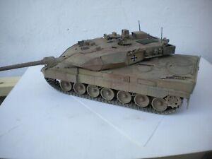 """DIORAMA 1/35  CARRO ARMATO """"LEOPARD"""" 2 A5  F.G.A."""