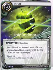 Android netrunner LCG - 1x parche #021 - system crash Corporation draft Pack