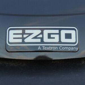 Golf Cart Decal EZ-GO RXV (N) Logo Emblem Name Plate Badge