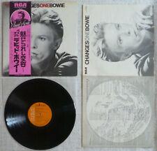 David Bowie - Changesonebowie (1976) LP (NM) SUPER Rare 1st Press with Obi !!
