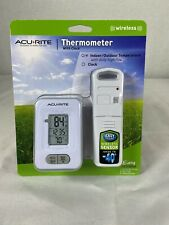 Acurite Wireless Indoor/Outdoor Thermometer with Clock