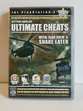 Sony PS2 - Ultimate Cheats (Action Replay) Metal Gear Solid 3 Selten
