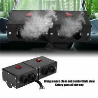 12V 500W Portable Windscreen Car Auto Heater Defroster Demister 4 Ports Warm Fan