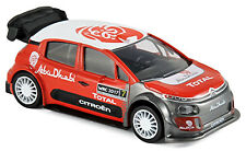 Citroen C3 WRC 2017 Official Presentation #7 Abu Dhabi White Wheels 1:43 Norev