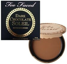 Too Faced DARK CHOCOLATE SOLEIL MATTE BRONZER Deep/Tan ~ DELIGHTFUL BEAUTY