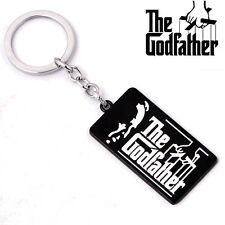 Movie Around The Godfather Logo Metal Keychain Key Ring Pendant Collectible Gift