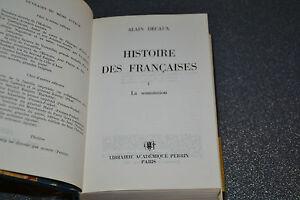 Histoire des Françaises, la Soumission - Alain Decaux (L4)