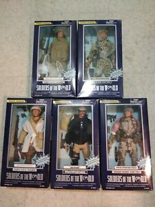 Soldiers Of The World Modern Marine Iraqi Freedom Vietnam WW2 Figure oop gi joe