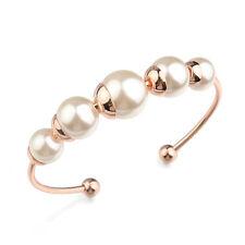 HOT alla moda Chocker Bracciale mit 5 perle placcato oro regalo di Natale