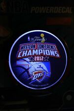OKC Thunder NBA POWER DECAL Western Conference 2012 lighted - SEALED - EXPEDITED