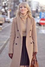 ff9f19e8 zara camel coat in Women's Clothing   eBay
