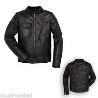 DUCATI Dainese Scrambler Café Racer Lederjacke Leder Jacke Leather Jacket NEU %%