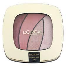 L'Oreal Color Riche Quad Eye Shadow - shocking  S10 Seductive Rose new sealed
