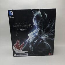 DC Universe Play Arts Kai Batman Limited Color Red Variant Square Enix Rare USA