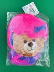Full Size BABW Teddy Bear Accessory NEW Rainbow Wig