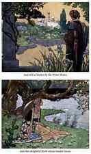 Rene Bull página 111 Hada A4 foto impresión de arte