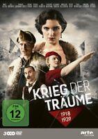 KRIEG DER TRÄUME- 1918-1939 PETER,JAN/BASMAN,JOEL/OLSZANSKA,M/+  -   3 DVD NEU