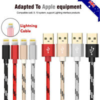 0.2/1/2m Data Sync 2A Fast Charger USB Cable iPhone 12 7+ 6 6S 5 SE X XS MAX XR