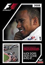 New listing Formula 1 - Season Review 2008 (DVD, 2008, 2-Disc Set)