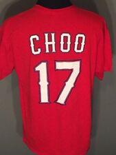 Shin-Soo Choo #17 Texas Rangers Mlb Baseball Coca-Cola Mens Size Xl Red T-shirt