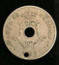 1906 BELGIUM (Belgie) Coin - 10 Centimes