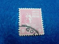 Timbre 9 Centimes W Harrison 1938 USA Scott 814 STAMP États-Unis DE L'AMÉRIQUE