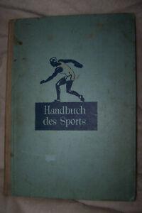 Handbuch des Sports BERLIN 1932 fast komplett mit allen Bildern außer Babe Ruth