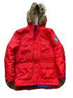 Boy?s Landsend Red Coat Age 12-14 Years Waterproof/ Windproof