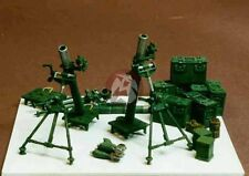 Resicast 1/35 3 Inch Mortar (3 pieces - 2 in firing position & 1 folded) 352223