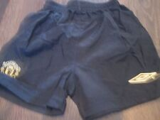 Manchester United 2001-2002 Away Football Shorts Size 2-3 Years waist  /bi