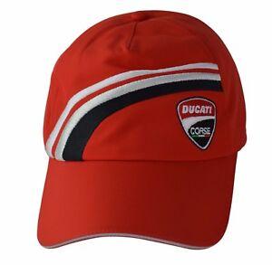 Ducati Corse Cordon 920 Chapeau Homme Femme Moto Moto Gris 987700022