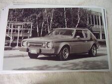 1976 AMC RAMBLER GREMLIN X    BIG  11 X 17  PHOTO   PICTURE