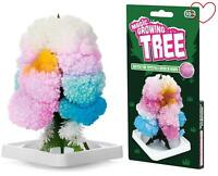 Kids Magic Growing Crystal Tree Science Toy Gift Kit Decoration